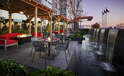 The Terrace at Trio Bar Lounge, inside Novotel Toronto Vaughan Hotel & Resort